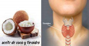 tiroides y aceite de coco