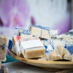 jabón artesanal de aceite de coco