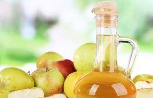 Vinagre de manzana y aceite de coco para las arrugas