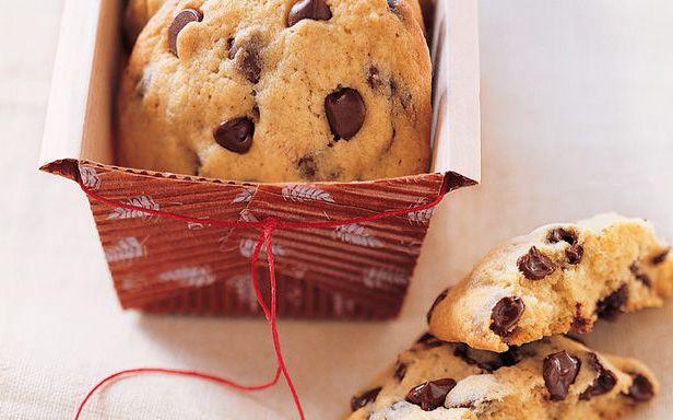 galletas de chocolate y coco