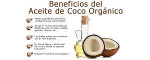 beneficios aceite de coco orgánico