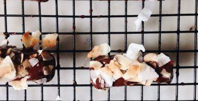 Receta turrón de coco