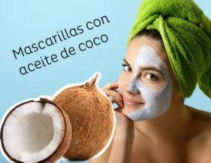 mascarillas con aceite de coco